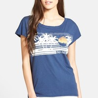 Women's Sol Angeles 'Sunset' Short Sleeve Pocket Tee