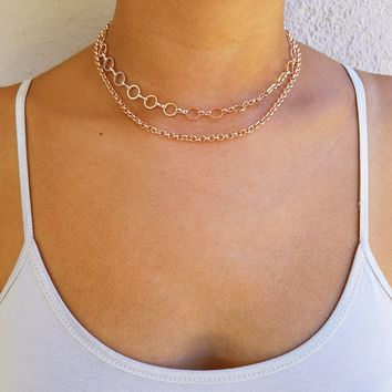 Copy of Layered Triangle Choker