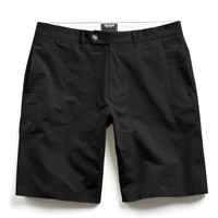 Hudson Tab-front Chino Short in Black