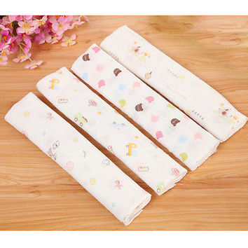 NEW Baby Cotton Gauze Muslin Face Towel Baby Towel Wipe Baby Washcloth 3C&