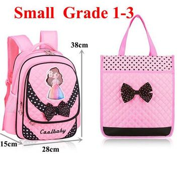 School Backpack Cool Baby Hot Children School Bags Primary School Students Girl Multi-function Combination Packages Spinal Cartoon Backpack Z640 AT_48_3