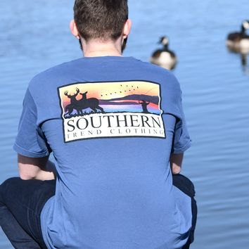 Southern Trend Outdoorsman S/S {Navy}