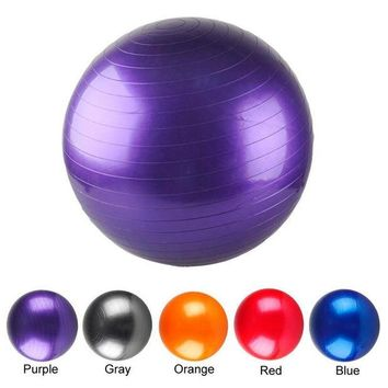 DCCK1IN go yoga shop new yoga ball thick explosion proof massage ball bouncing ball gymnastic exercise fitness yoga balance ball 55 cm 5 colors