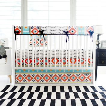 Tribal Four Corners Baby Bedding Set