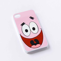 Face patrick spongebob iPhone 4/4S, 5/5S, 5C,6,6plus,and Samsung s3,s4,s5,s6