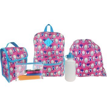 iPack 5 Piece Kids Backpack
