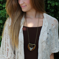 Aztec Love Necklace