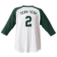 "Alan "" Yeah-Yeah "" McClennan #2 Sandlot Jersey T-Shirt Baseball Movie Sand Lot New"