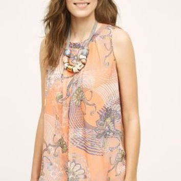 Meadow Rue Samma Swing Tank in Orange Size: