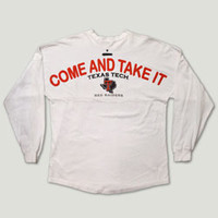 Texas Tech, Red Raiders, Spirit Jersey, Come and Take It