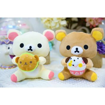 Cute Soft Stuffed Cartoon Bear Animal Bunny Toy