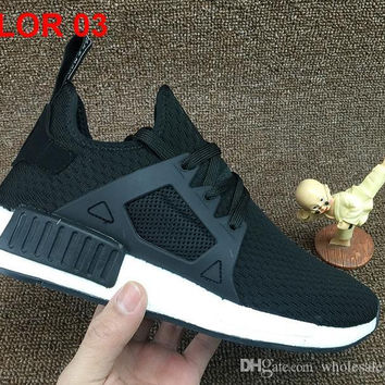 2017 NMD XR1 x Runner Primeknit Running Shoes for Top quality Olive Green low boost Sneakers Men Women Boost Fashion Sneakers Size 36-45