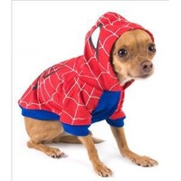 "Spider-Dog Costume for Dogs - Size 1 (8"" l x 10.5"" x 12"" g)"
