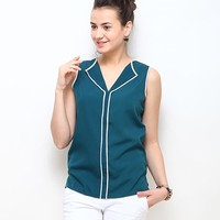 Shyra Solid Top - Teal Green Online Shopping | 64745