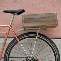 Wooden Kourier Bicycle Crate