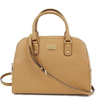 Michael Kors Saffiano Leather Large Satchel Handbag  mk