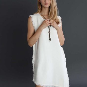 So Fringin' Serious Knit Dress