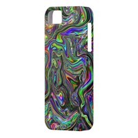Color flow psychedelic iPhone 5 case