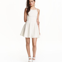 Textured Jersey Dress - from H&M