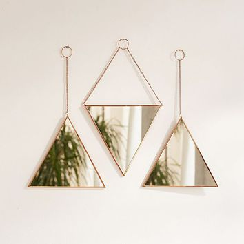 Triangle Mirror Set | Urban Outfitters