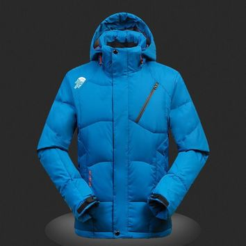 The North Face outdoor men's down jacket