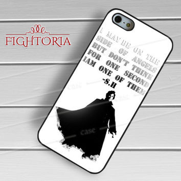 sherlock Quote-1naa for iPhone 6S case, iPhone 5s case, iPhone 6 case, iPhone 4S, Samsung S6 Edge