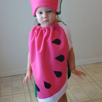 kids watermelon costume halloween costume children girls fruit food purim group twin photo prop