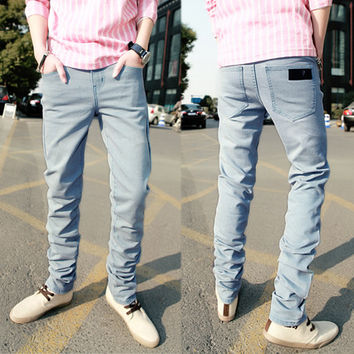 New Style Slim Fit Blue Denim Jeans