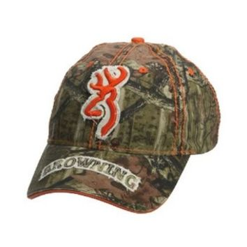 Browning Cottonwood Cap, Mossy Oak Break-Up Infinity, Adult cap adjustable fit 308136201