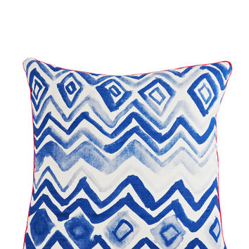 Diamonds Pillow - Blue