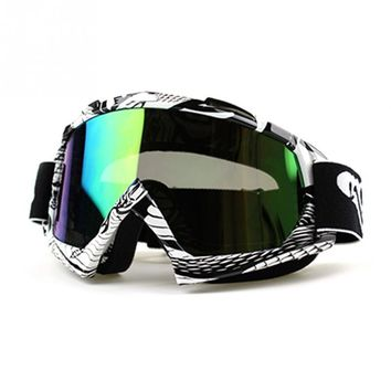 Outdoor Windproof Glasses Ski Goggles Dustproof Snow Glasses Men Motocross Goggles Downhill Skiing Eyewear