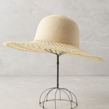 Cahuita Sun Hat by Anthropologie in Neutral Size: One Size Hats