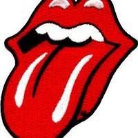 Application Rolling Stone Tongue Patch