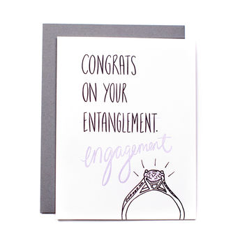 Congrats on Your Entanglement / Engagement