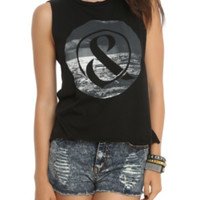 Of Mice & Men Ocean Muscle Girls Top