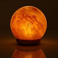 Himalayan Salt Globe Shape Lamp