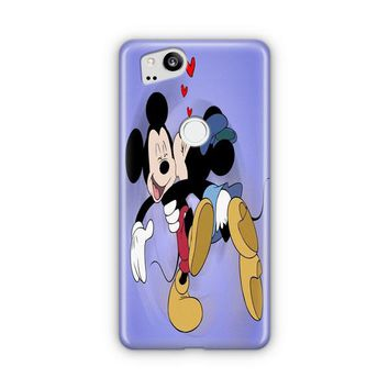 Mickey Mouse And Minnie Mouse Google Pixel 3 XL Case | Casefantasy