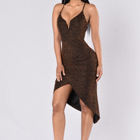 Unforgettable Night Dress - Bronze