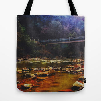 River Crossing Tote Bag by DuckyB (Brandi)