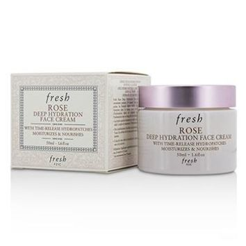 Fresh Rose Deep Hydration Face Cream - Normal to Dry Skin Types Skincare