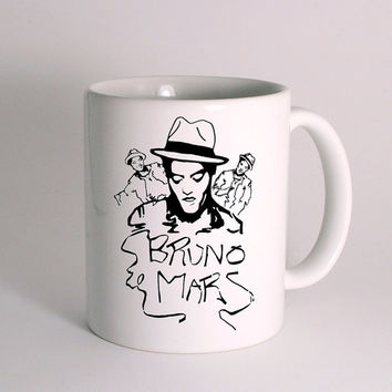 Bruno Mars for Mug Design