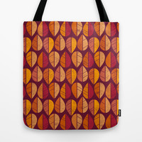 Fall Colors Tote Bag by ChunkyDesign