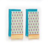 The Pioneer Woman Daisy Chain Kitchen Towel Set, 4pk - Walmart.com