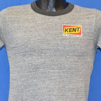 70s Kent: The Guaranteed Feed Ringer t-shirt Small