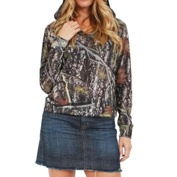 Women's Camo Hoodie Authentic True Timber Made in the USA