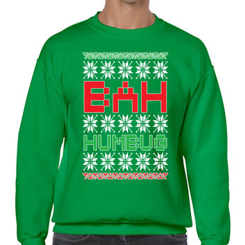 Bah Humbug christmas Men's Sweatshirt
