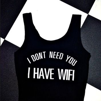 SWEET LORD O'MIGHTY! I ONLY NEED WIFI BRALET