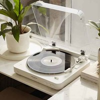 Audio-Technica Wireless AT-LP60 Vinyl Record Player - White