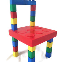Kids Chair - Child's Chair - Kids Bedroom Furniture - Children's Playroom Furniture