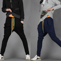 Casual Pants Korean Sportswear Skinny Pants [6539647107]